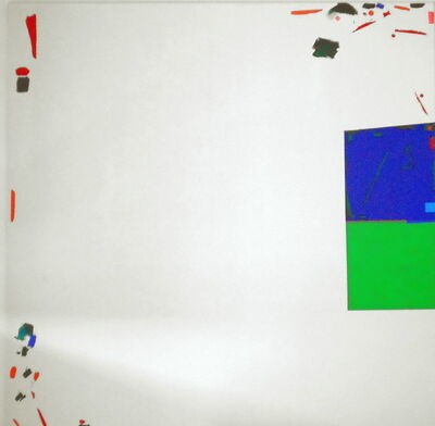 Kvĕta Pacovská, 'Large White Painting', 2000