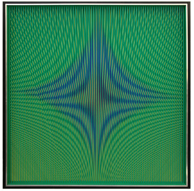 Alberto Biasi, 'Dinamica Visiva', 1974