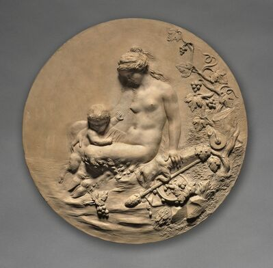 Clodion, 'Satyress and Child', 1803