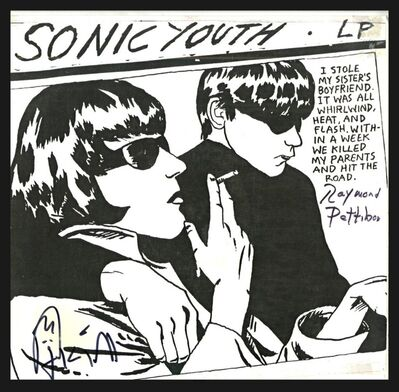 Raymond Pettibon, 'Sonic Youth (Hand Signed by both Raymond Pettibon and Kim Gordon)', 1990-2014