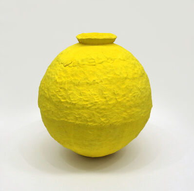 Trevor King, 'Yellow Water Jar #1', 2019