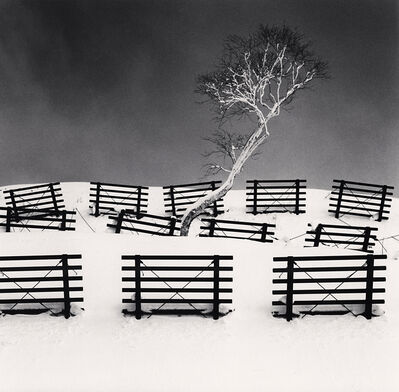 Michael Kenna, 'Dakekanba and Snow Barriers, Hokkaido, Japan', 2020