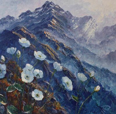 Richard Ponder, 'Mount Cook Lilies', 2017