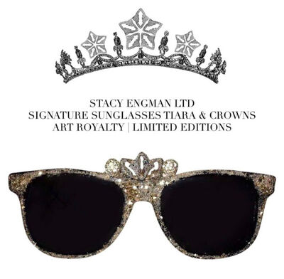 Stacy Engman, 'Art Royalty- Signature Diamond Dust Sunglasses- Tiara', 2019