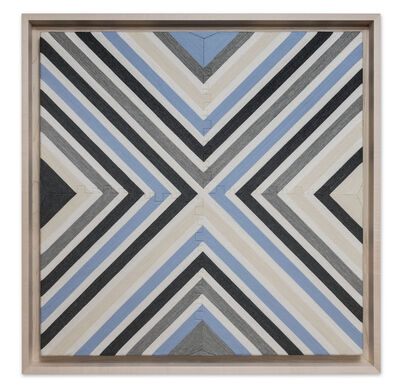 """Eduardo Terrazas, '1.3.17 from the series """"Possibilities of a Structure"""", subseries """"Diagonals""""', 2015"""