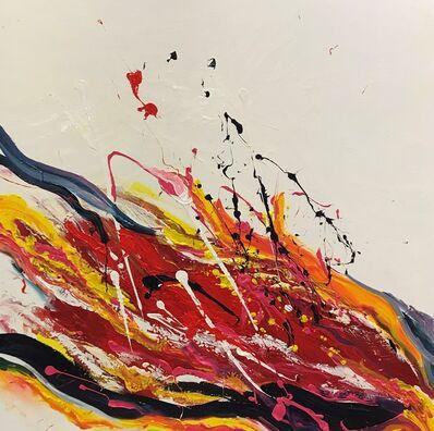 Tiny de Bruin, 'Vurige zee in vlammende vervoering', 2019