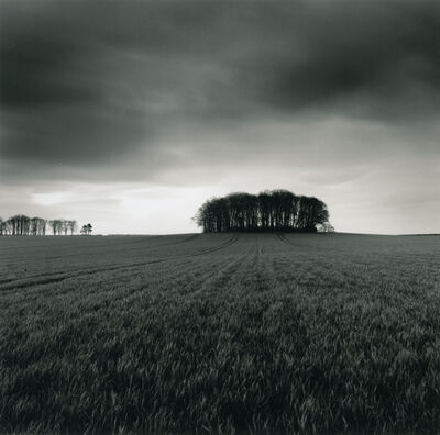 Michael Kenna, 'Copse, Great Smeaton, Yorkshire', 1991