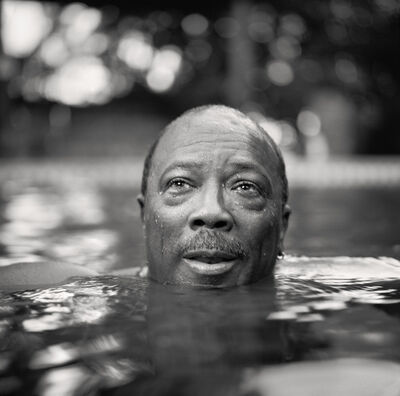 Martin Schoeller, 'Quincy Jones in his Pool', 2001