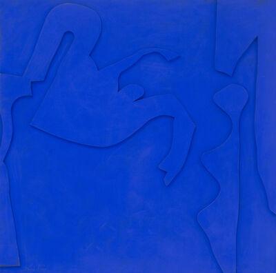 Perle Fine, 'Blue-Chips Blue #1', 1967