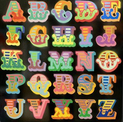 Ben Eine, 'Alphabet Circus Font ', 2018