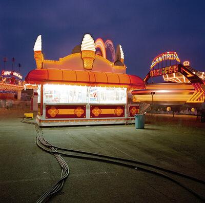 Jeff Brouws, 'Ice Cream Booth, Ventura, CA', 1988