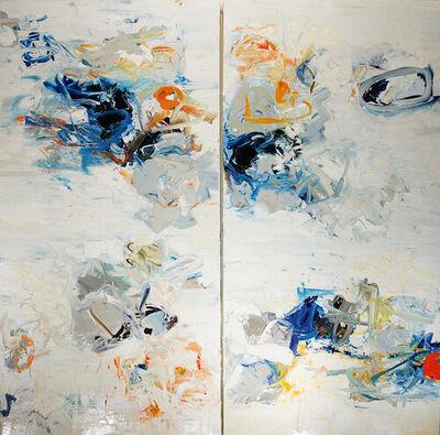 Chris Hayman, 'Blue Twist (Diptych)', 2020