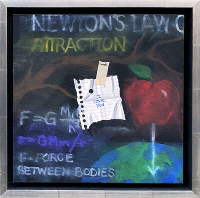 Otto Duecker, 'I Love You (Newton's Law)', 2021