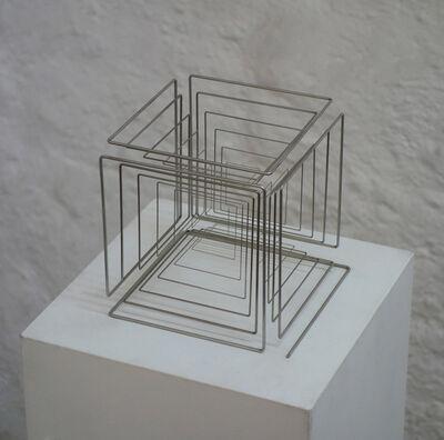 Martin Willing, 'konischer stab, zum kubus gekantet', 2015