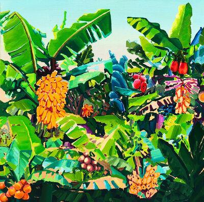 Alejandra Atares, 'Fluor green', 2019