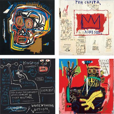 After Jean-Michel Basquiat, 'Portfolio I', 1983-2001