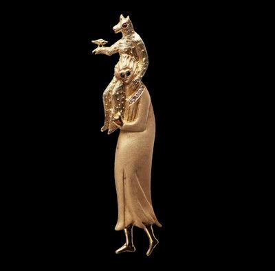 Leonora Carrington, 'Pendant Mother monkey', ca. 2008