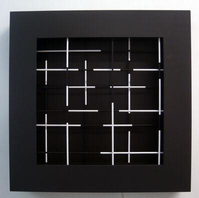 Dario Perez-Flores, 'mobile trame noir et blanc', 2011