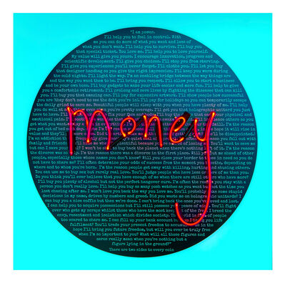 Rebecca Mason, 'Money Talks: Under Sharing (Money)', 2016
