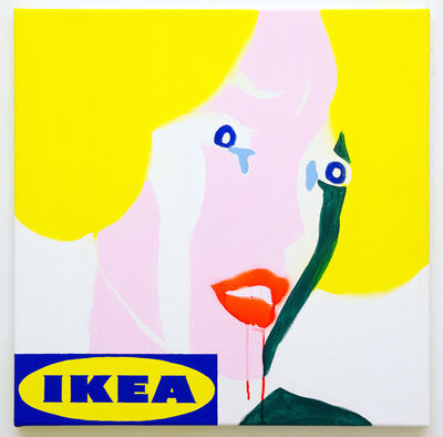 Michael Pybus, 'Frightened Girl IKEA (2)', 2018