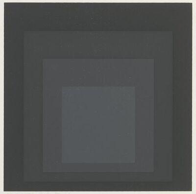 Josef Albers, 'Gray Instrumentation I j', 1974