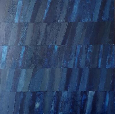 "Stéphanie MENARD, '""Monochrome Bleu 3""', 2018"