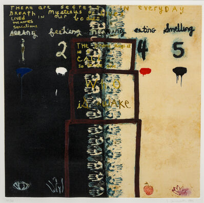 Squeak Carnwath, 'Everyday Secrets', 1995