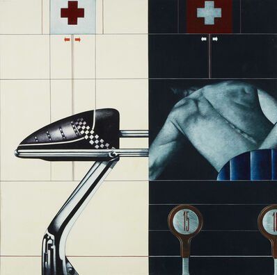 "Sergio Sarri, '""Tool and Shape""', 1972"