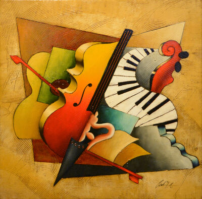Emanuel Mattini, 'Mosaic Orchestration XIV', 2010-2019