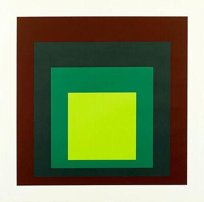 Josef Albers, 'I-S k', 1973