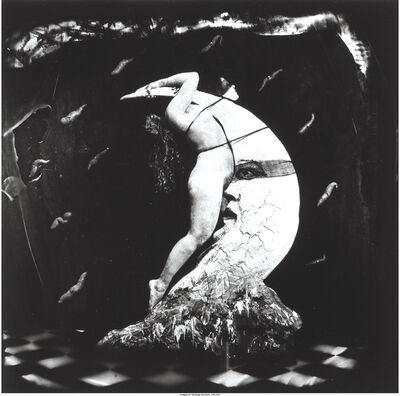 Joel-Peter Witkin, 'Woman Masturbating on the Moon', 1982