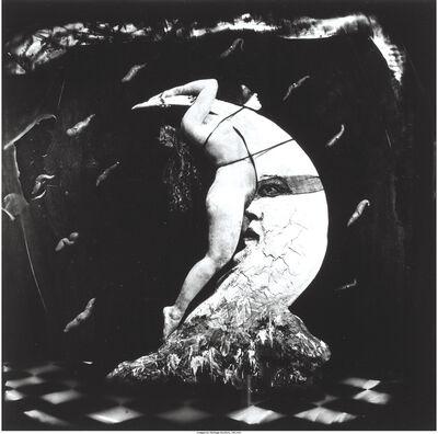 Joel-Peter Witkin, 'Woman Masturbating on the Moon', 1982
