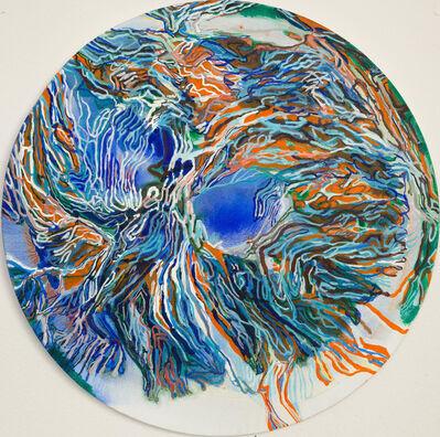 Emna Zghal, 'Blue well', 2020