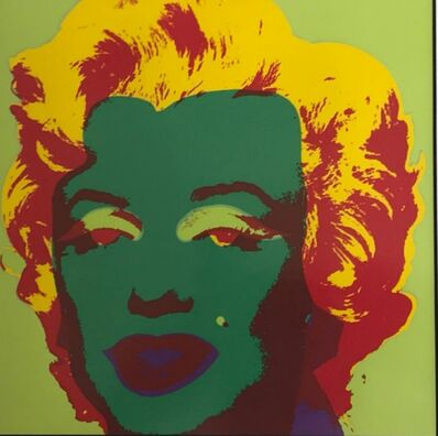 Andy Warhol, 'Marilyn for Art Basel', ca. 1987