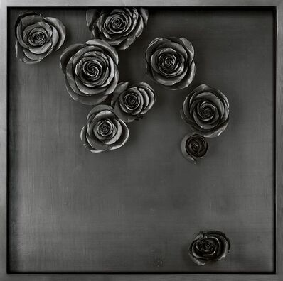 Cai Zhisong, 'Rose Square Scroll', 2010