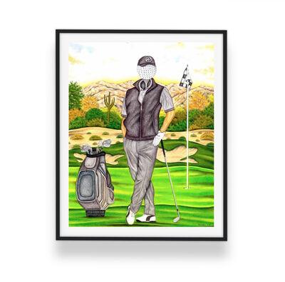 Valentino Dixon, 'Limited Edition Print - Golfer', 2016
