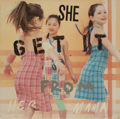 Nate Lowman, 'She Get it from her Mama', 2003