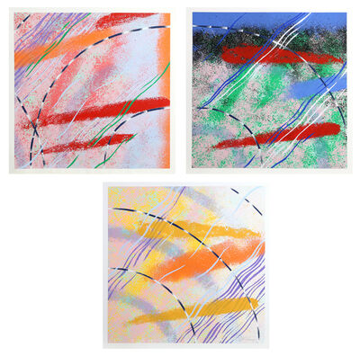 Al Loving, 'Wild Goose Lake Series, Set of Three Screenprints', 1980