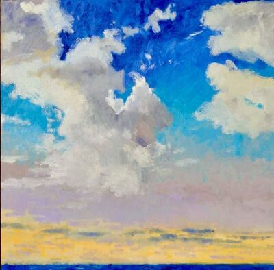 Rodger Bechtold, 'Windblown Clouds', ca. 2018