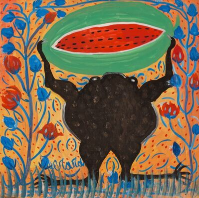 Gerard Fortune, 'Untitled (Frog Holding Watermelon)', ca. 1970's