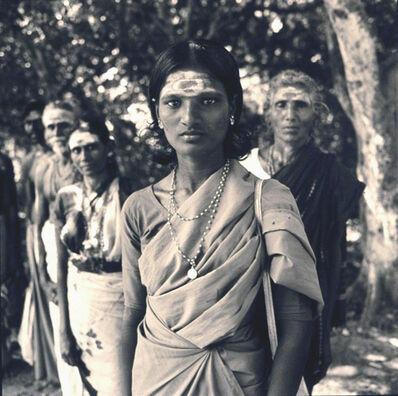 Rosalind Solomon, 'Pilgrims, Madutai, India', 1981