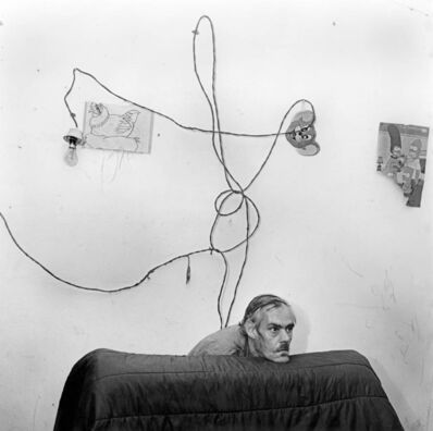 Roger Ballen, 'Head Below Wires', 1999