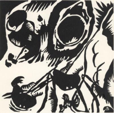 Wassily Kandinsky, ''Motif aus Improvisation 25: The Garden of Love'', 1911 / 1938