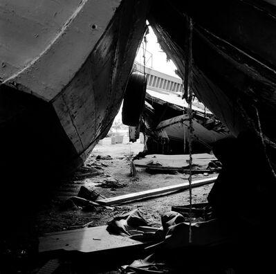 E.B. Itso, 'Clandestine Boat Cemetery I', 2014