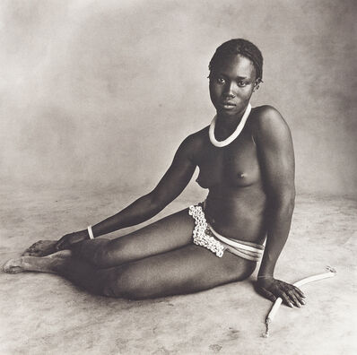 Irving Penn, 'Nubile Young Beauty of Diamarè, Cameroon', 1969
