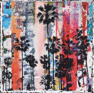 Marion Duschletta, 'Rainbow Palms', 2018