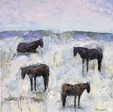 Theodore Waddell, 'Winter Horses #10', 2018