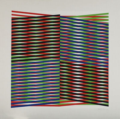 Carlos Cruz-Diez, 'Untitled', 1970