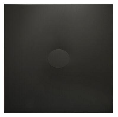 Turi Simeti, 'Un ovale nero ', 2018