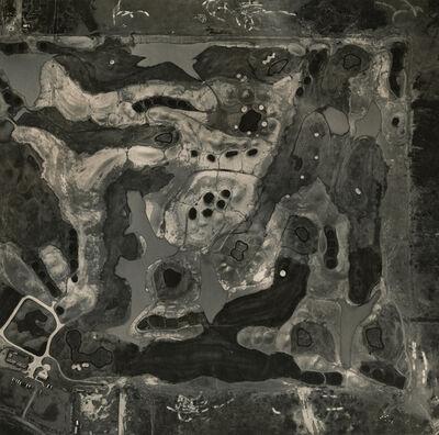 Emmet Gowin, 'Golf Course Under Construction, Arizona', 1991